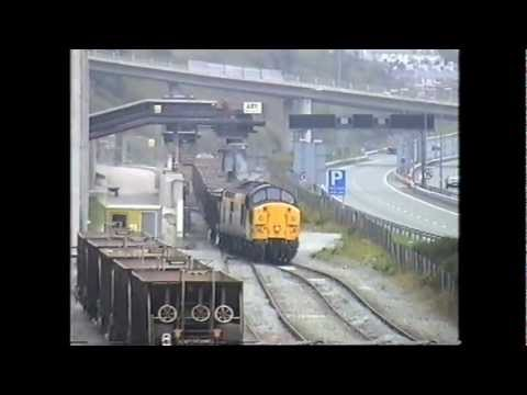 Class 37s in North Wales 1997