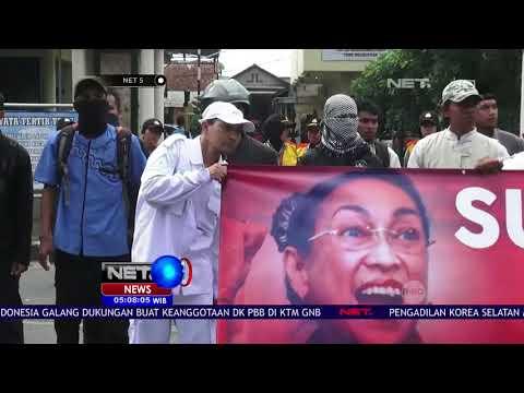 Ribuan Umat Islam Protes Puisi Sukmawati - NET 5