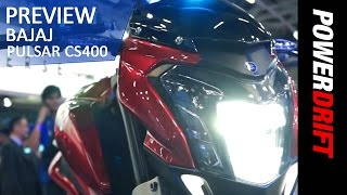 Bajaj Pulsar CS 400: First Look: PowerDrift