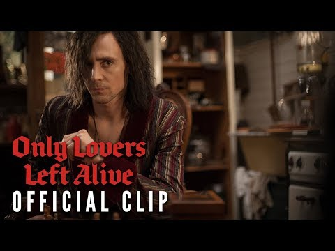 Only Lovers Left Alive Clip 'Blood Popsicles'