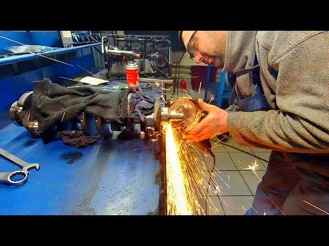 Фото к видео: Капитальный ремонт двигателя Фольксваген 2.4 зборка часть1