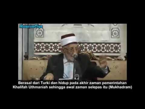 Komentar alm. Syeikh ramadhan al-buthi tentang Said Nursi