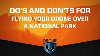 Do's and Don'ts for Flying Your Drone over a National Park
