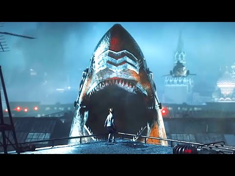 SKY SHARKS Trailer (2020) Flying Shark Horror