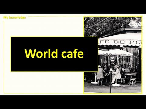 """""""World cafe"""" (Мировое кафе). Как вовлечь сотрудников в корпоративную жизнь"""