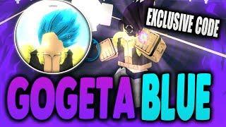 "[EXCLUSIVE CODE] SS BLUE GOGETA IN ROBLOX | ANIME CROSS 2 UPDATE ""Broly & Gogeta"" | iBeMaine"