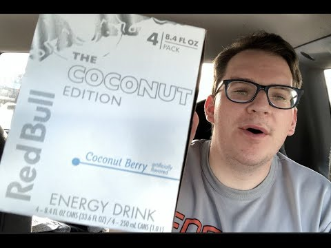 Red Bull coconut berry review/test test