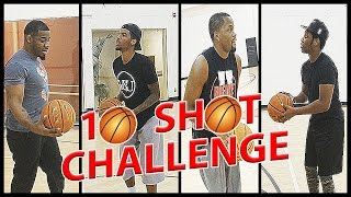 THE STRONGEST LAYUP IN HUMAN HISTORY - 10 Shot Challenge