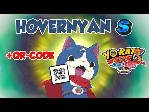 Yo Kai Watch 3 Fr 74 Hovernyan S Qr Code Chamallow Gaming
