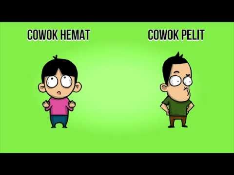 Video Perbedaan Cowok Hemat & Cowok Pelit