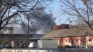 тираспольское шоссе пожар 13.11.2018