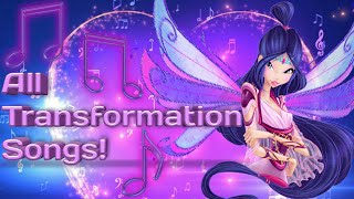 Gambar cover Winx Club: all full transformation songs up to Onyrix in English!