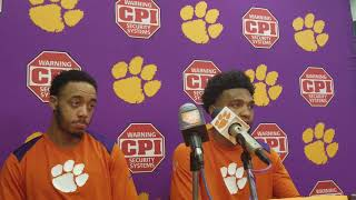 Clemson 74 Louisville 69: Reed and DeVoe postgame