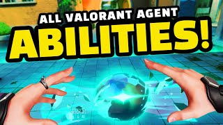 VALORANT - ALL AGENT ABILITIES EXPLAINED! Tips and Advice!