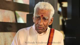 No percussion is used for female characters in Kathakali, why? - Nelliyode Vasudevan Namboodiri,