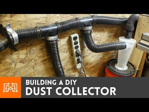 Make A Dust Collector Using A Wet Dry Shop Vac