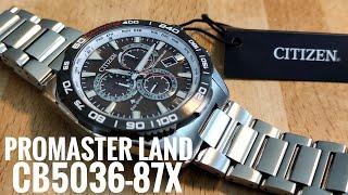 Citizen Promaster Land CB5036-87X Funk-Solaruhr Eco-Drive Review deutsch