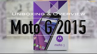 Unboxing and Overview of Moto G 3rd Generation