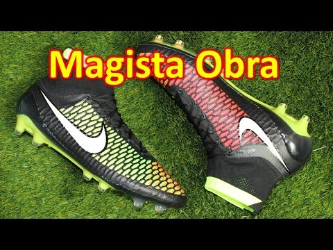 Nike Magista Obra Black/Hyper Punch/Volt - Unboxing + On Feet