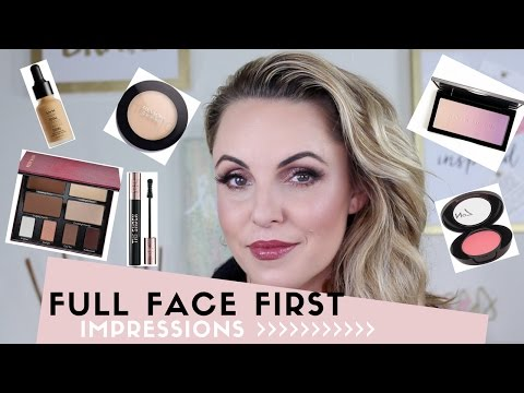 Full Face First Impressions of new products!! || Elle Leary Artistry