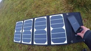 RAVPower 24 Watt Solar Charger BEST Review - Самые лучшие видео