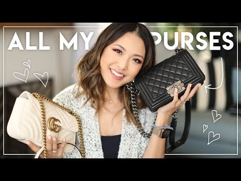 MY BAG COLLECTION! | Chanel, Gucci, Balenciaga, Louis Vuitton