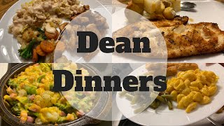 What's For Dinner || DEAN DINNERS || Cook With Me