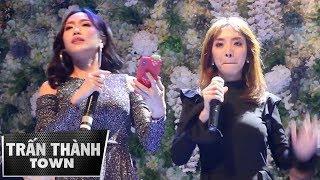 TRẤN THÀNH quay lại cảnh DIỆU NHI và THU TRANG hát live đỉnh cao trong đám cưới VINH RÂU (4/12/2017)