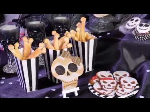 Halloweenrecept botten snacks