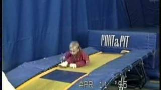 Taylor Rice with Dad at Gymcats and with Laura at GVAC