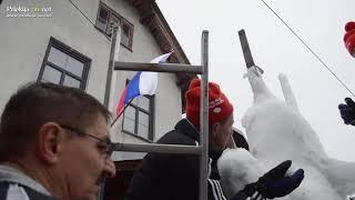 Izdelovanje snežnega kurenta