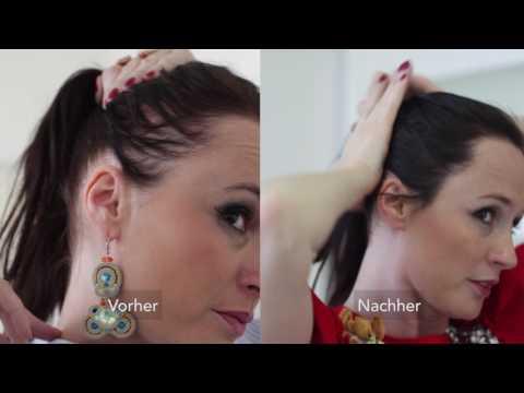Die Volksbehandlung vom Haarausfall für die Frauen