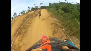 preview picture of video 'TEAM SUZUKI CACOMIAF - 1er Cross du Cacao SAN PEDRO le 31/03/13 - GoPro avec David, Kevin & Flavio -'