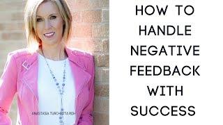How To Handle Negative Feedback