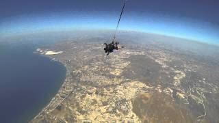 preview picture of video 'GoPro Skydive Cyprus 2014'