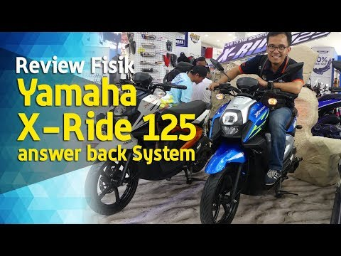 VLOG : Review Fisik Yamaha X Ride 125 Answer back System
