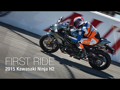 2015 Kawasaki Ninja H2 First Ride - MotoUSA