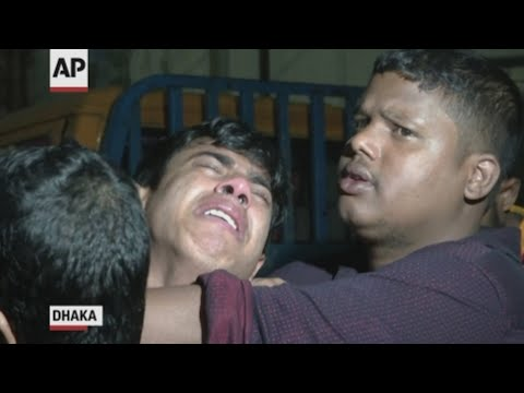 A devastating fire raced through densely packed buildings in Bangladesh's capital, killing at least 70 people. (Feb. 21)