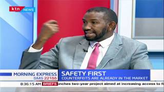 Are sanitizers and masks Kenyans using authentic? | Safety First