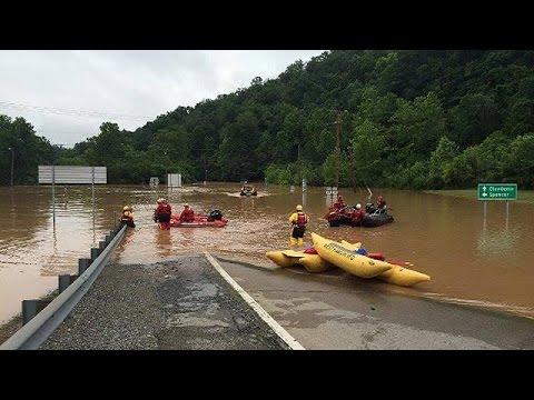 ΗΠΑ: Δεκάδες νεκρούς και υλικές ζημίες άφησαν οι πλημμύρες στη Δυτική Βιρτζίνια
