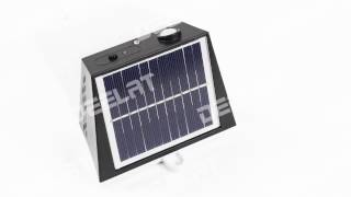 400 Lumen Solar Garden Outdoor Motion Light