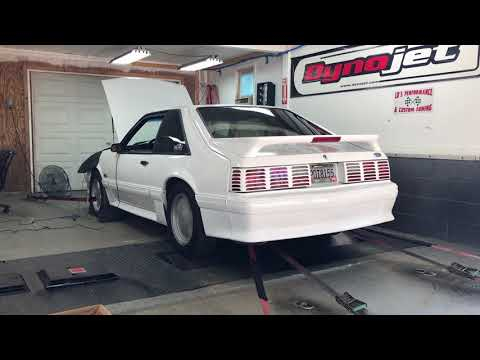 1991 Stock Mustang With 308,000 Miles Dyno Test