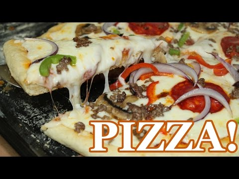Gooey Cheese Pizza | All Nigerian Recipes