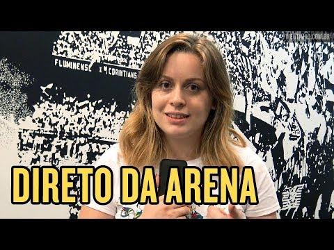 TREINO ABERTO NA ARENA CORINTHIANS  MISTÉRIO DE JAIR E FESTA DA FIEL d7ffa0f0bd28e