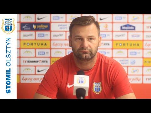 Adrian Stawski przed meczem Stomil Olsztyn - Resovia