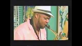 Sharmond Smith On Bahamas At Sunrise. Smooth Jazz In The Bahamas