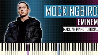 How To Play: Eminem - Mockingbird | Piano Tutorial + Sheets