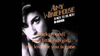 Hey, Little Rich Girl - Amy Winehouse (Lyrics)