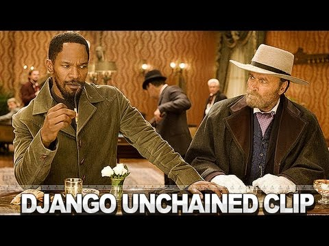Django Unchained Clip 'Getting Dirty'