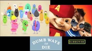 Dumb Ways to Die CHIPMUNKS/CHIPETTES version (cute!!!) Tangerine Kitty
